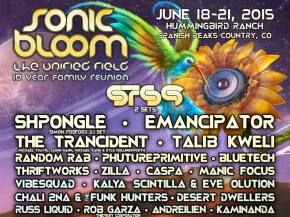 Top 10 SONIC BLOOM 2015 Undercard Artists [Page 2]