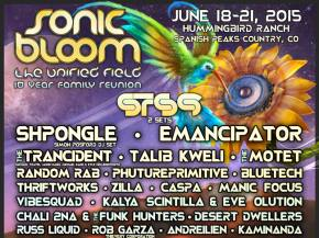 SONIC BLOOM adds The Motet, reveals full schedule June 18-21 Rye, CO