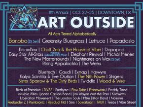 Bonobo, Frameworks join Art Outside lineup October 22-25 Downtown, TX