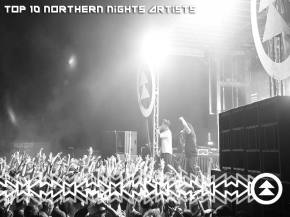 Top 10 Northern Nights 2015 Artists