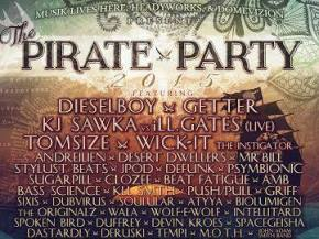 Pirate Party combines sick lineup, resort life Lolo, MT July 31-Aug 2 Preview