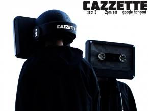 Cazzette Google Hangout with The Untz September 3 at 2pm EST