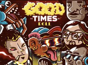 GRiZ & Big Gigantic collab on 'Good Times Roll,' hot box the studio