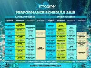 Imagine Festival posts schedule for Atlanta, GA August 29-30 event Preview