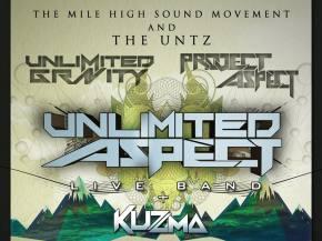 The Untz presents Unlimited Aspect live band Fall Tour 2015