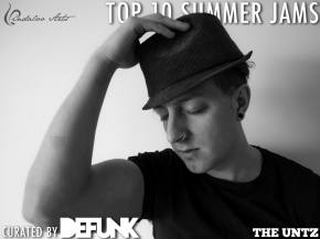 Top 10 Summer Jams curated by Defunk