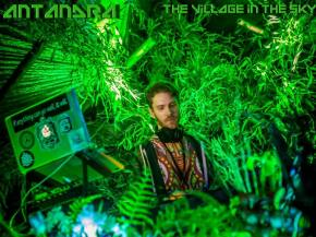 Antandra debuts 'The Village in the Sky' [Mycelium Music September 30]