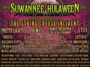Don't mess around with Halloween. Suwannee Hulaween is the way to go.