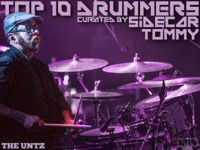 Top 10 Drummers curated by Sidecar Tommy (Beats Antique)