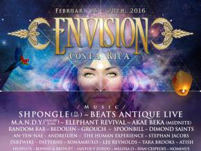 Envision Festival 2016 in Costa Rica unveils its first wave lineup! Preview