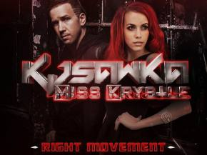 KJ Sawka & Miss Krystle release electrifying new single 'Right Movement'