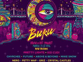 Pretty Lights, Nero, GRiZ head up Buku 2016 in New Orleans March 11-12