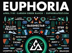 STS9, GRiZ, Tycho join Bassnectar at Euphoria April 7-10 Austin, TX Preview