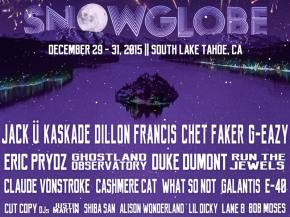 End 2015 on a high note: SnowGlobe Music Festival in South Lake Tahoe! Preview