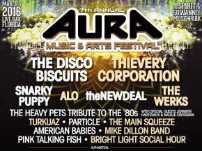 Thievery Corporation, theNEWDEAL, The Werks join AURA Music Fest 2016