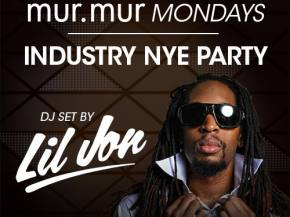 LIL JON DJ's Industry NYE December 28 at mur.mur Mondays Atlantic City