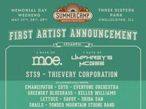 STS9, Emancipator, EOTO, Snails in jam-heavy Summer Camp wave 1 lineup Preview