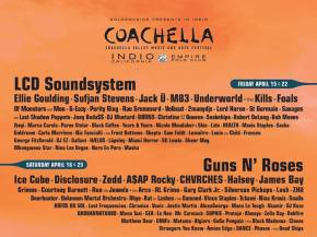 LCD Soundsystem reunion is the highlight of the Coachella 2016 lineup Preview