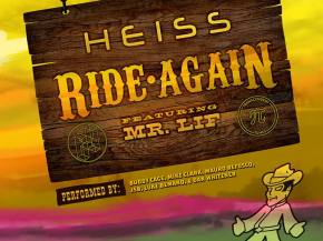Heiss collaborates with legendary rapper Mr. Lif on 'Ride Again'