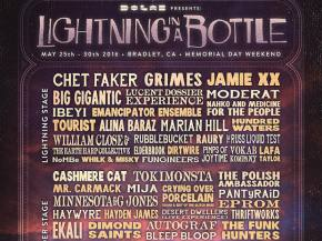 Chet Faker, Grimes, Jamie XX, Big G atop Lightning in a Bottle 2016 Preview
