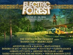 Bassnectar, STS9, GRiZ, Tchami & more headline Electric Forest 2016 Preview