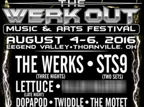 STS9, Lettuce, Dopapod join The Werks at The Werk Out Festival 2016