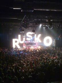 Rusko / Fox Theater (Oakland, CA) / 04.14.11