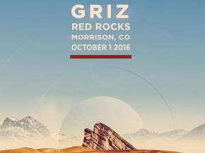 GRiZ announces Red Rocks 2016 headlining play on October 1