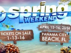 Spring Weekend brings big names to Panama City Beach April 15-16