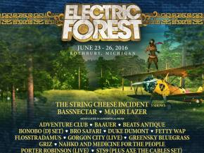 Electric Forest 2016 adds STS9 Axe the Cables set, Getter and more!