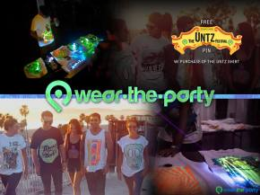 The Untz Festival partners with Wear The Party for official tees