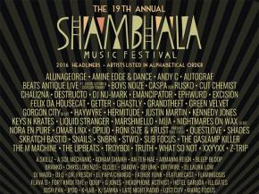 Is there such a thing as TOO MUCH good music? Shambhala will find out. Preview