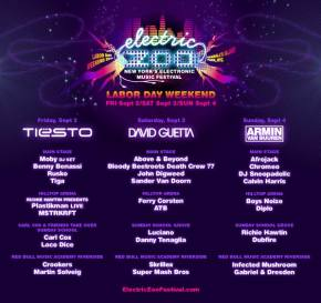 Electric Zoo 2011 - 30 Additional Headliners Announced