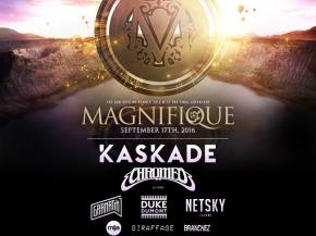 Magnifique brings Kaskade, Chromeo, Gramatik & more to The Gorge Preview