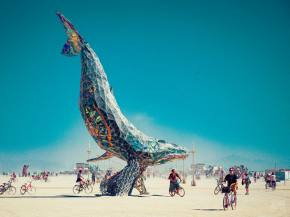 This is why every festival steals Burning Man art.