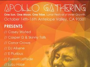 Apollo Gathering brings house & trance to Antelope Valley in October