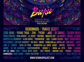 The BUKU Music + Art Project 2017 lineup is insane. Preview