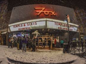 Fans brave a Boulder blizzard to catch Sixis & Templo at the Fox