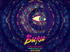 BUKU Music + Art Project Brings a Blowout to the Bayou