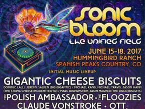 Gigantic Cheese Biscuits headline Sonic Bloom 2017!