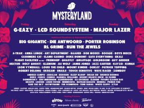 LCD Soundsystem, Major Lazer headline Mysteryland USA 2017