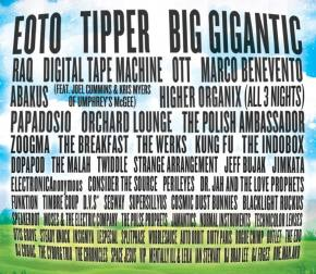 The Big Up - 3rd and Final Artist Announcement