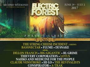 Tycho, Kalya Scintilla & Breaking Biscuits join Electric Forest lineup