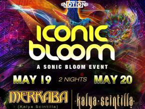 Iconic Bloom brings the SONIC BLOOM sound to Chicago for 2 nights Preview