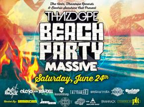 ThazDope Records unveils Beach Party Massive lineup for New York
