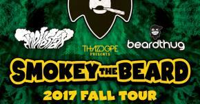 Smokey The Beard tour kicks off soon with Smokestax, beardthug