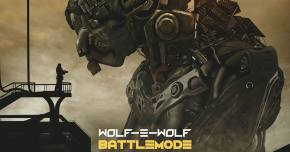 Wolf-e-Wolf premieres fearsome title track from BATTLEMODE EP Preview
