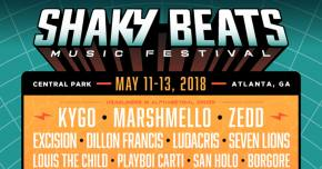 Shaky Beats enlists the biggest names in bass for its 2018 lineup Preview