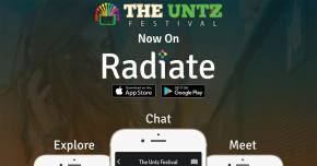 The Untz Festival is live on the Radiate app!