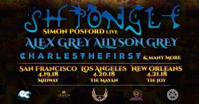 Shpongle anchors a 3-city whirlwind Bicycle Day tour in April